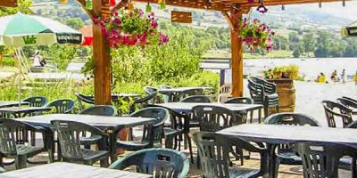 restaurant camping lac saint point